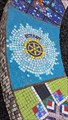 Image for Rotary mosaic panel - Trail of Life mosaic - East Midlands Airport Trail, Leicestershire