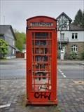 Image for Red Telephone Box in Schönenberg - Ruppichteroth, NRW, Germany