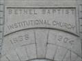 Image for 1904 - Bethel Baptist Institutional Church - Jacksonville, FL