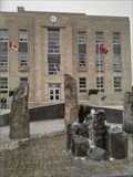 Image for Fountain in Front of Courthouse - Goderich, Ontario
