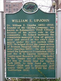 William E. Upjohn marker