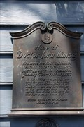 Image for Home of Dr. John Lining - Charleston, SC