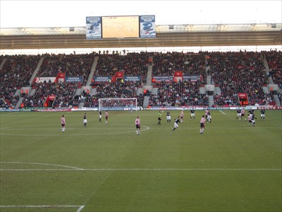 View from the Northam Stand towards the Chapel Stand