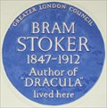 Image for Bram Stoker - St Leonard's Terrace, London, UK