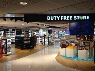 Duty Free Store, Arlanda Airport, Stockholm, Sweden