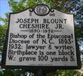 Image for Joseph Blount Cheshire, Jr., Marker E-96
