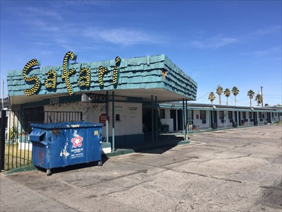 Safai Motel Overview, Las Vegas, Nevada