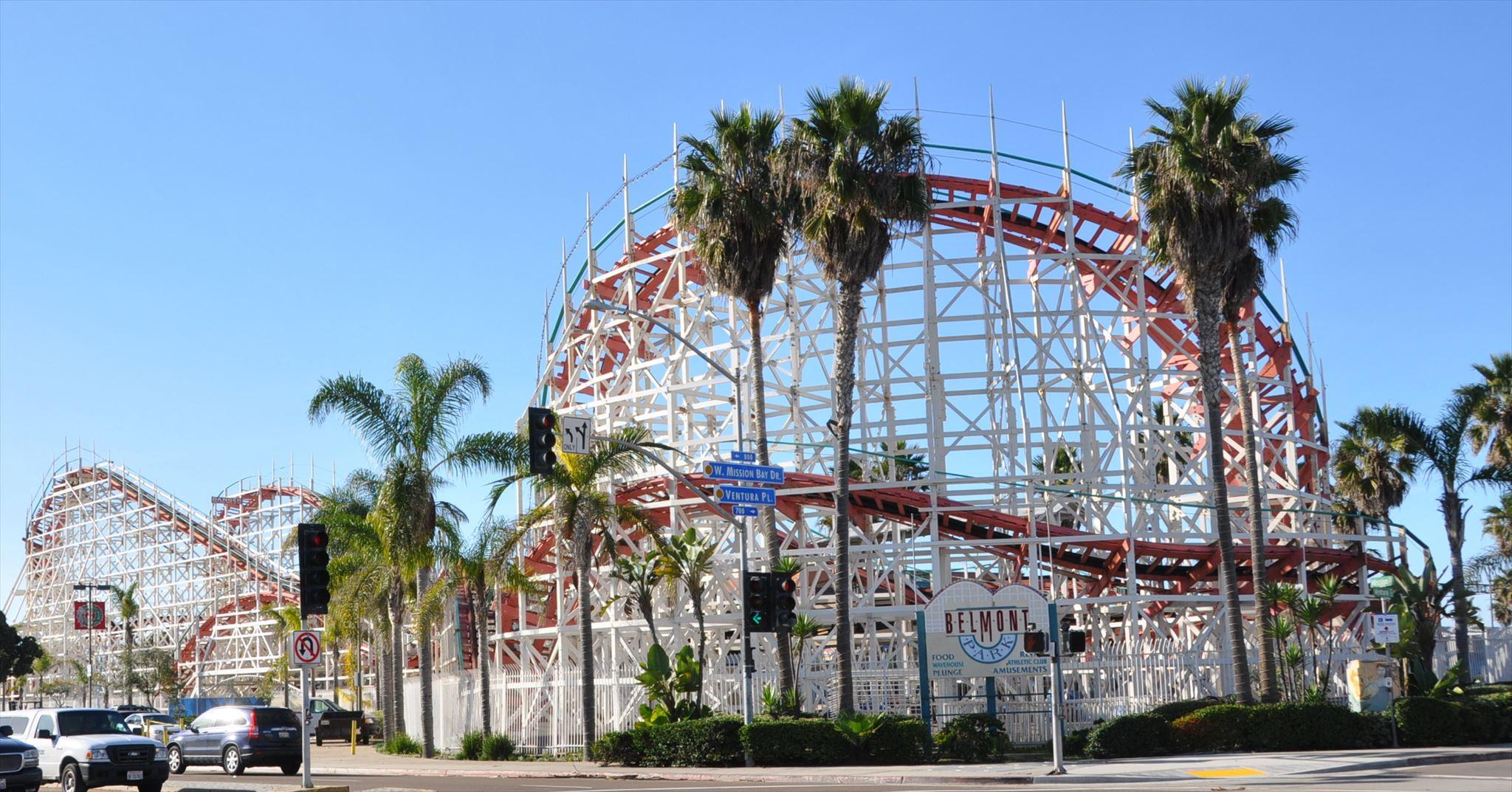 San Diego Belmont Amusement Park Newhairstylesformen2014 Com