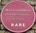 Image for Main Guard House - 1718 - Royal Arsenal, Woolwich, London, UK