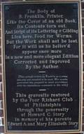 Image for Benjamin Franklin - Christ Church Burial Ground - Philadelphia, PA