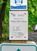 Image for 397 m ü. NN - Hohe Wart Haus — Staatsforst Hohe Wart, Germany
