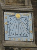 Image for Ely Cathedral - Sundial on  The Cathedral Church of The Holy and Undivided Trinity in Ely
