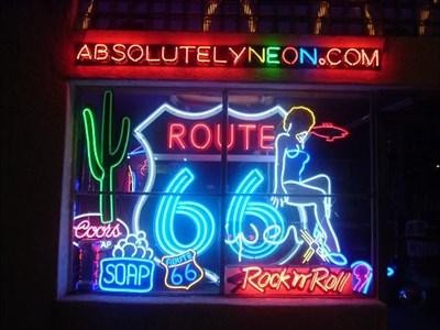 ABSOLUTELY NEON RT 66