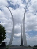 Image for Air Force memorial dedicated  -  Arlington, VA