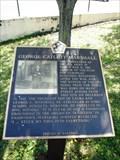 Image for George Catllett Marshall  - Uniontown, Pennsylvania