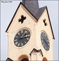 Image for Clocks on St. Bartholomew's Church / Hodiny na kostele Sv. Bartolomeje (Milevsko - South Bohemia)