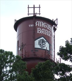Angus Barn Water Tower, Raleigh, North Carolina - Water ...