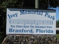 Image for Swannee River - Ivey Memorial Park - Branford, Florida, USA.