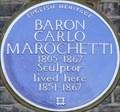 Image for Baron Carlo Marochetti - Onslow Square, London, UK