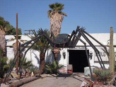 volkswagen vw beetle spider north palm springs ca car part sculptures on. Black Bedroom Furniture Sets. Home Design Ideas