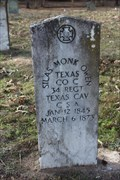 Image for EARLIEST Marked Grave in Owen Cemetery - Henderson County, TX