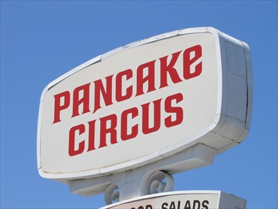 Pancake Circus Sign, Sacramento, CA
