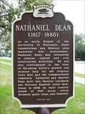 Image for Nathaniel Dean/Dean House Historical Marker