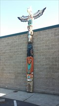 Image for Rogue River Library Totem Pole - Rogue River, OR