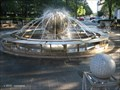 Image for Galaxy:  Earth Sphere Fountain, Kendall Square - Cambridge, MA