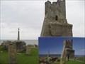 Image for Post Card of Aberystwyth Caste Ruins, New Promenade, Aberystwyth, Ceredigion
