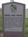 Image for Watie and Ridge - S. of Grove, OK