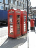 Image for Two Red Telephone Boxes - Queensway, London, UK