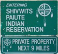 Image for Shivwits Paiute Indian Reservation, Paiute - Utah, USA