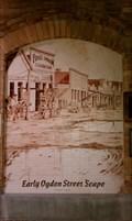 Image for Early Ogden Street Scape Circa 1870, Union Station - Ogden, Utah