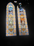 Image for Stained glass - Paroquia Nossa Senhora da Aparecida - Sao Paulo, Brazil