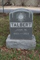 Image for John W. Talbert - Western Heights Cemetery - Dallas, TX