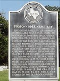 Image for Poston-Odle Cemetery