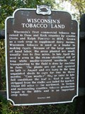 Image for Wisconsin's Tobacco Land Historical Marker