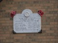 Image for Harpole -Methodist Church Great War Memorial Plaque- Northant's