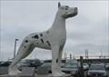 Image for Big Great Dane Statue - Savanah, Georgia, USA.