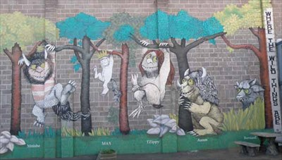 Where the Wild Things Are Mural Connell Washington Murals on