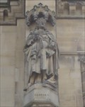 Image for Monarchs - King George I On Side Of City Hall - Bradford, UK