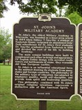 Image for St. John's Military Academy Historical Marker