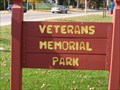 Image for Veterans Memorial Park Playground - Redgranite, WI