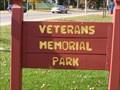Image for Veterans Memorial Park Playground - Redgranite, WI