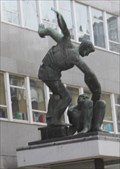 "Image for ""Spirit of Trade Unionism"" -- Trades Union Congress Building, Camden, London, UK"