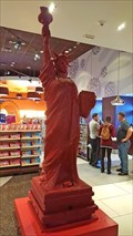 Image for Twizzler Statue of Liberty at Hershey's Chocolate World - Las Vegas, NV