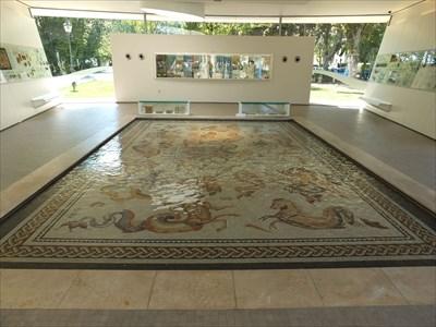 Mosaik Bad römer mosaik bad vilbel hessen germany mosaics on waymarking com