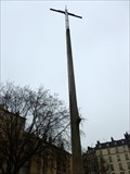 Image for A cross on the site of Joan of Arc execution - Rouen, France