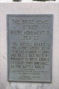 Image for The Brice Home Stood Where Monument is Located -- Brice's Crossroads NBP, Baldwyn MS